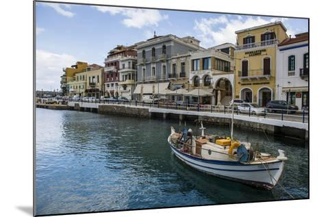 Lake Voulismeni, Agios Nikolaos, Crete, Greek Islands, Greece-Michael Runkel-Mounted Photographic Print