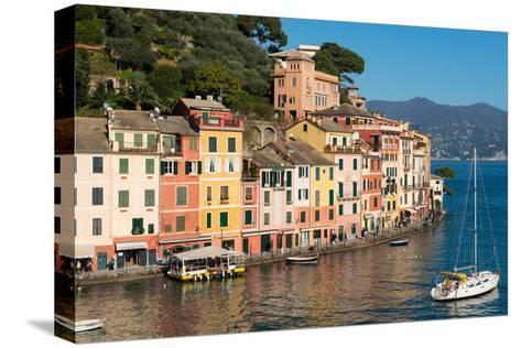 Portofino, Genova (Genoa), Liguria, Italy, Europe-Carlo Morucchio-Stretched Canvas Print