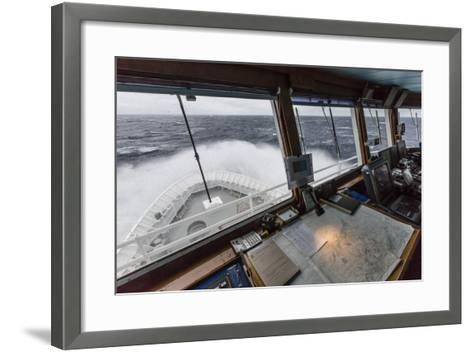 The Lindblad Expeditions Ship National Geographic Explorer in English Strait-Michael Nolan-Framed Art Print