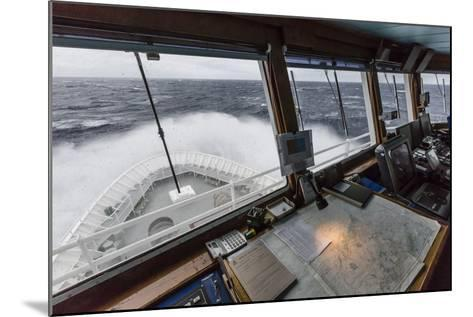 The Lindblad Expeditions Ship National Geographic Explorer in English Strait-Michael Nolan-Mounted Photographic Print
