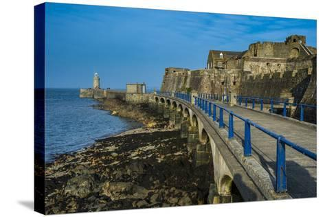 Cornet Castle, Saint Peter Port, Guernsey, Channel Islands, United Kingdom-Michael Runkel-Stretched Canvas Print