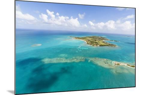 View of Long Island One of the Most Undisturbed in the World, Antigua, Leeward Islands, West Indies-Roberto Moiola-Mounted Photographic Print