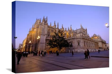 Seville Cathedral, Seville, Andalucia, Spain-Carlo Morucchio-Stretched Canvas Print