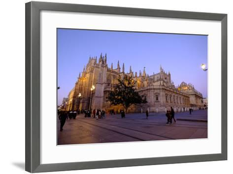 Seville Cathedral, Seville, Andalucia, Spain-Carlo Morucchio-Framed Art Print