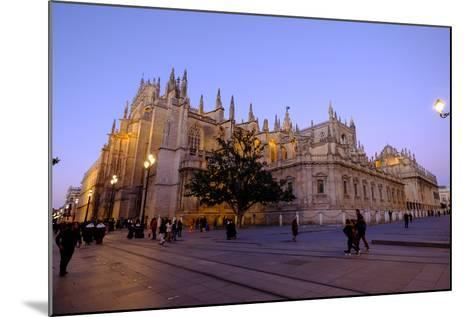 Seville Cathedral, Seville, Andalucia, Spain-Carlo Morucchio-Mounted Photographic Print
