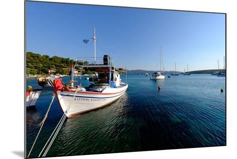 The Small Port and Beach of Posidonio, Samos Island, North Aegean Islands, Greek Islands, Greece-Carlo Morucchio-Mounted Photographic Print