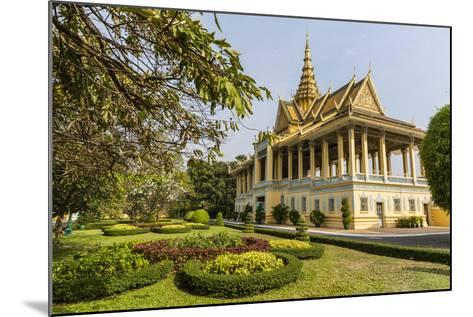 The Moonlight Pavilion, Royal Palace, in the Capital City of Phnom Penh, Cambodia, Indochina-Michael Nolan-Mounted Photographic Print