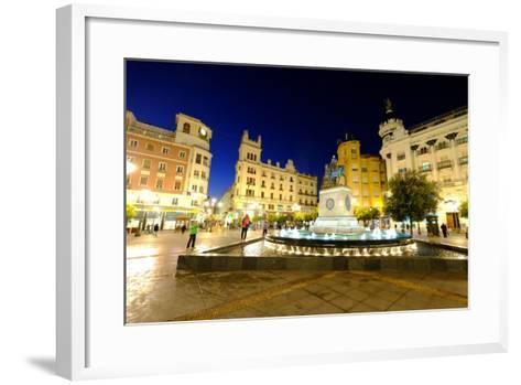 Plaza Tendillas, Cordoba, Andalucia, Spain-Carlo Morucchio-Framed Art Print