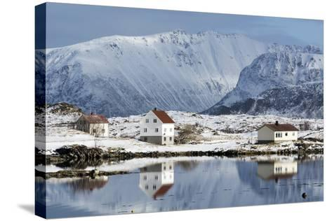 Eggum, Lofoten Islands, Arctic, Norway, Scandinavia-Sergio Pitamitz-Stretched Canvas Print
