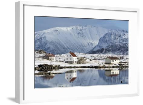 Eggum, Lofoten Islands, Arctic, Norway, Scandinavia-Sergio Pitamitz-Framed Art Print