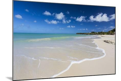 The Waves of the Caribbean Sea Crashing on the White Sandy Beach of Runaway Bay-Roberto Moiola-Mounted Photographic Print