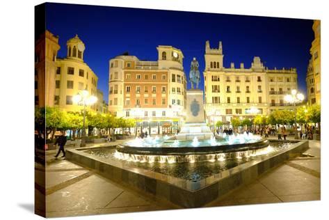 Plaza Tendillas, Cordoba, Andalucia, Spain-Carlo Morucchio-Stretched Canvas Print