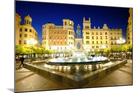 Plaza Tendillas, Cordoba, Andalucia, Spain-Carlo Morucchio-Mounted Photographic Print