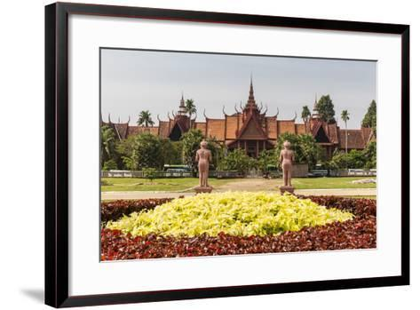 The National Museum of Cambodia in the Capital City of Phnom Penh, Cambodia, Indochina-Michael Nolan-Framed Art Print