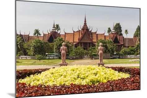 The National Museum of Cambodia in the Capital City of Phnom Penh, Cambodia, Indochina-Michael Nolan-Mounted Photographic Print