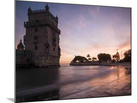Belem Tower at Dusk (Torre De Belem), Lisbon, Portugal-Ben Pipe-Mounted Photographic Print