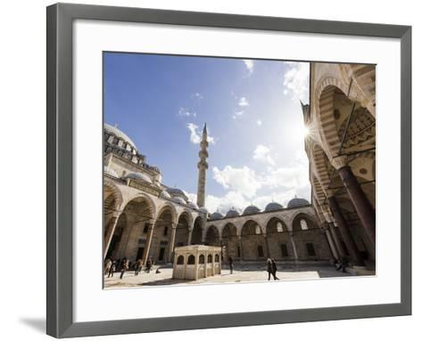 Exterior of Suleymaniye Mosque, Istanbul, Turkey-Ben Pipe-Framed Art Print