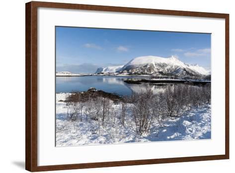 Along the National Tourist Road, Lofoten Islands, Arctic, Norway, Scandinavia-Sergio Pitamitz-Framed Art Print