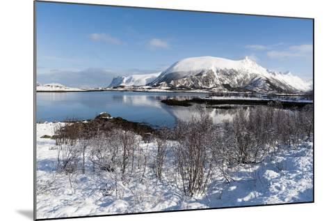 Along the National Tourist Road, Lofoten Islands, Arctic, Norway, Scandinavia-Sergio Pitamitz-Mounted Photographic Print