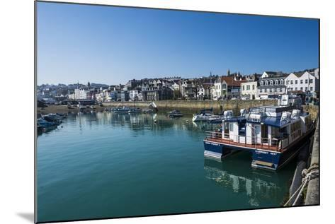 Seafront of Saint Peter Port, Guernsey, Channel Islands, United Kingdom-Michael Runkel-Mounted Photographic Print