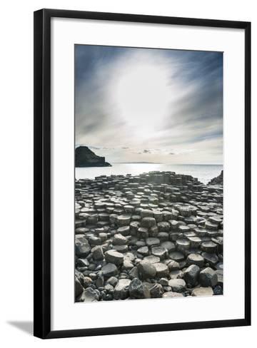 The Giants Causeway, County Antrim, Ulster, Northern Ireland, United Kingdom-Michael Runkel-Framed Art Print