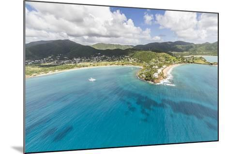 Aerial View of the Small Peninsula That Houses Carlisle Resorts-Roberto Moiola-Mounted Photographic Print