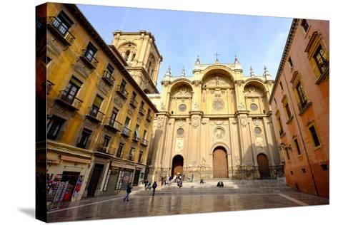Catedral De Granada, Granada, Andalucia, Spain-Carlo Morucchio-Stretched Canvas Print