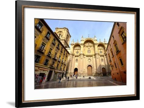 Catedral De Granada, Granada, Andalucia, Spain-Carlo Morucchio-Framed Art Print