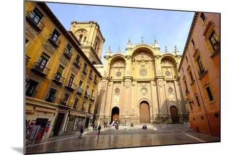 Catedral De Granada, Granada, Andalucia, Spain-Carlo Morucchio-Mounted Photographic Print