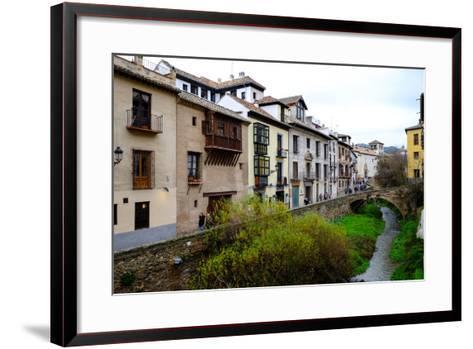 Carrera Del Darro, Granada, Andalucia, Spain-Carlo Morucchio-Framed Art Print