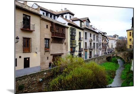Carrera Del Darro, Granada, Andalucia, Spain-Carlo Morucchio-Mounted Photographic Print