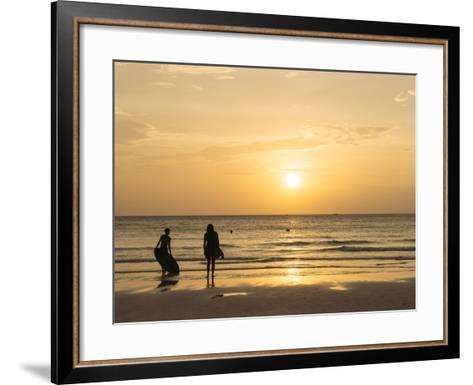 White Beach, Boracay, the Visayas, Philippines, Southeast Asia, Asia-Ben Pipe-Framed Art Print