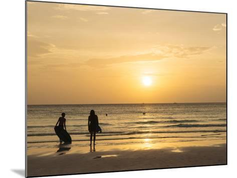 White Beach, Boracay, the Visayas, Philippines, Southeast Asia, Asia-Ben Pipe-Mounted Photographic Print