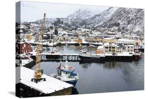 Svolvaer, Lofoten Islands, Nordland, Arctic, Norway, Scandinavia-Sergio Pitamitz-Stretched Canvas Print