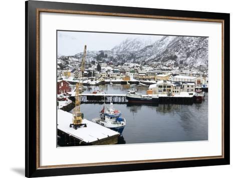 Svolvaer, Lofoten Islands, Nordland, Arctic, Norway, Scandinavia-Sergio Pitamitz-Framed Art Print