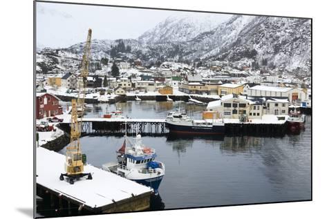Svolvaer, Lofoten Islands, Nordland, Arctic, Norway, Scandinavia-Sergio Pitamitz-Mounted Photographic Print
