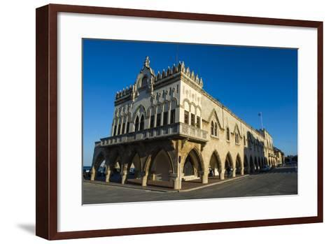 Palazzo Governale, the Medieval Old Town, City of Rhodes-Michael Runkel-Framed Art Print