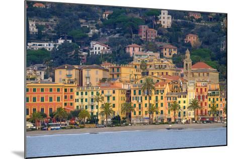Santa Margherita Ligure Seen from the Harbour, Genova (Genoa), Liguria, Italy, Europe-Carlo Morucchio-Mounted Photographic Print