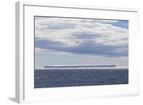 Tabular Iceberg in the Gerlache Strait, Antarctica, Polar Regions-Michael Nolan-Framed Art Print