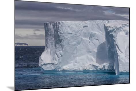 Tabular Iceberg in the Gerlache Strait, Antarctica, Polar Regions-Michael Nolan-Mounted Photographic Print