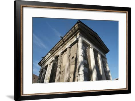 Temple Dedicated to the God of the Water (Portuno) (Temple of Portunus)-Oliviero Olivieri-Framed Art Print