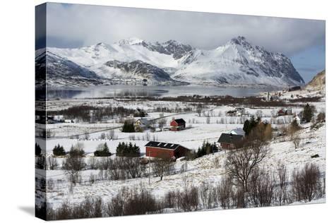 Borg, Lofoten Islands, Arctic, Norway, Scandinavia-Sergio Pitamitz-Stretched Canvas Print