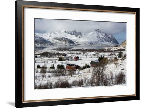 Borg, Lofoten Islands, Arctic, Norway, Scandinavia-Sergio Pitamitz-Framed Art Print