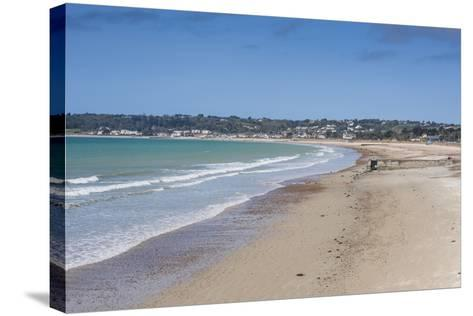 The Bay of St. Aubin, Jersey, Channel Islands, United Kingdom-Michael Runkel-Stretched Canvas Print