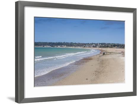 The Bay of St. Aubin, Jersey, Channel Islands, United Kingdom-Michael Runkel-Framed Art Print