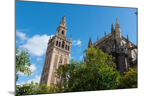 Sevilla Cathedral and Giralda, Seville, Andalucia, Spain-Carlo Morucchio-Mounted Photographic Print