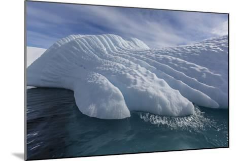 Glacial Iceberg Detail at Cuverville Island, Antarctica, Polar Regions-Michael Nolan-Mounted Photographic Print