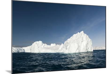 Icebergs in Ilulissat Icefjord, Greenland, Denmark, Polar Regions-Sergio Pitamitz-Mounted Photographic Print