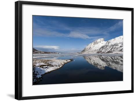 Knutstad, Lofoten Islands, Arctic, Norway, Scandinavia-Sergio Pitamitz-Framed Art Print