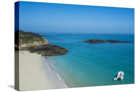 Belvoir Bay, Herm, Channel Islands, United Kingdom-Michael Runkel-Stretched Canvas Print
